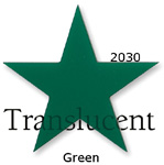 Channel Sign Letters Colors 2030 Green